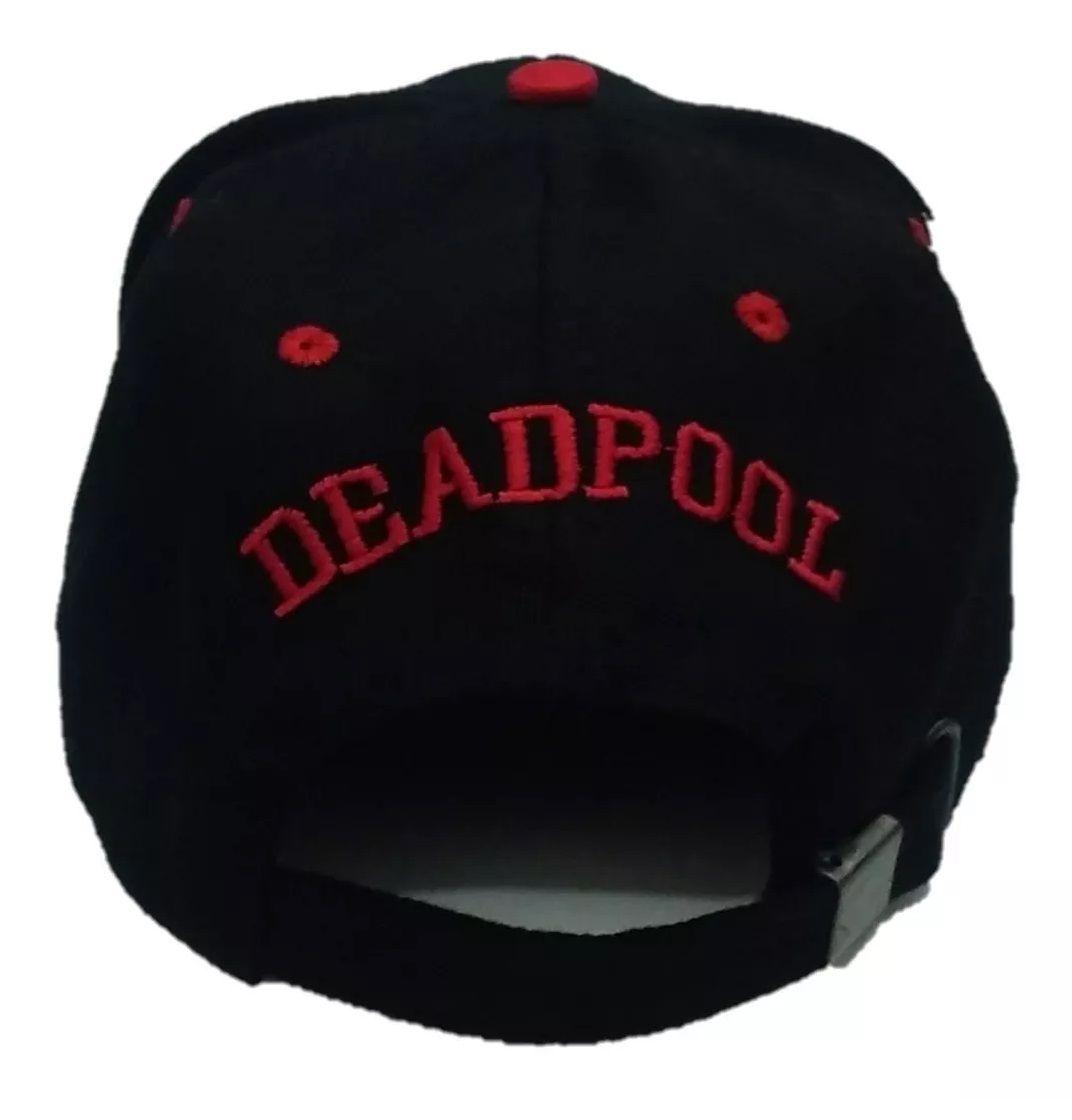 Boné Aba Curva Deadpool