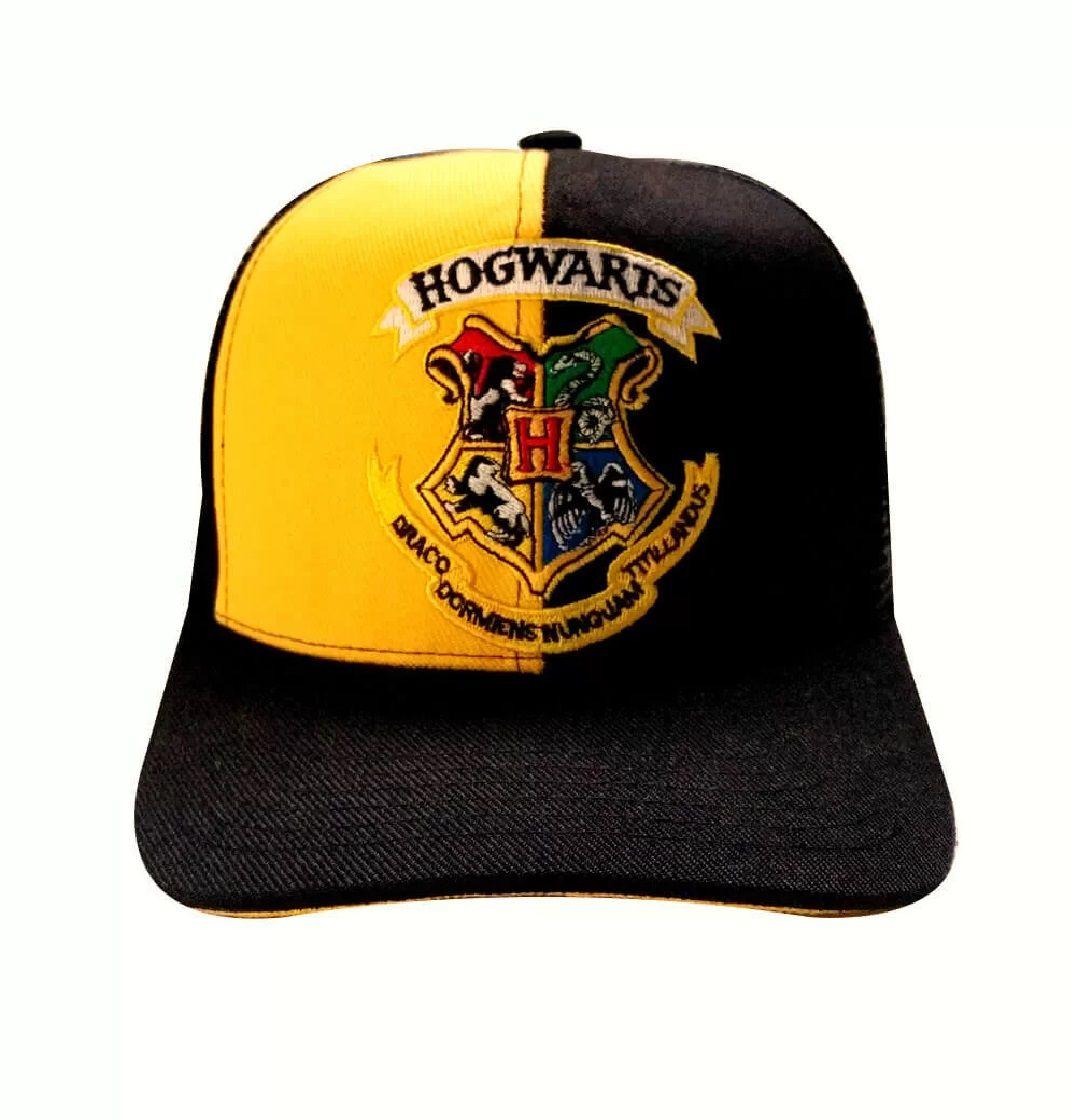 Boné Aba Curva Hogwarts: Harry Potter