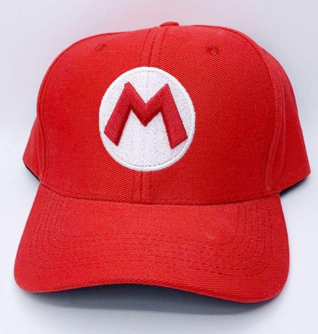 Boné Aba Curva Logo Mario: Super Mario Bros