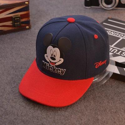 Boné Aba Curva Mickey Mouse: Disney Azul e Vermelho - EVALI
