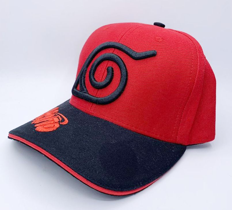 Boné Aba Curva Naruto: Naruto Shippuden