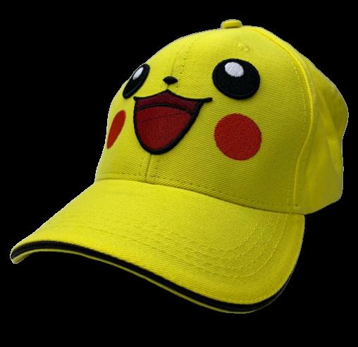 Boné Aba Curva Pikachu:  Pokémon