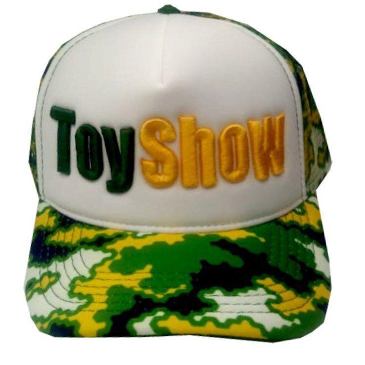 Boné Aba Curva Toyshow: Copa do Mundo (Verde e Amarelo)