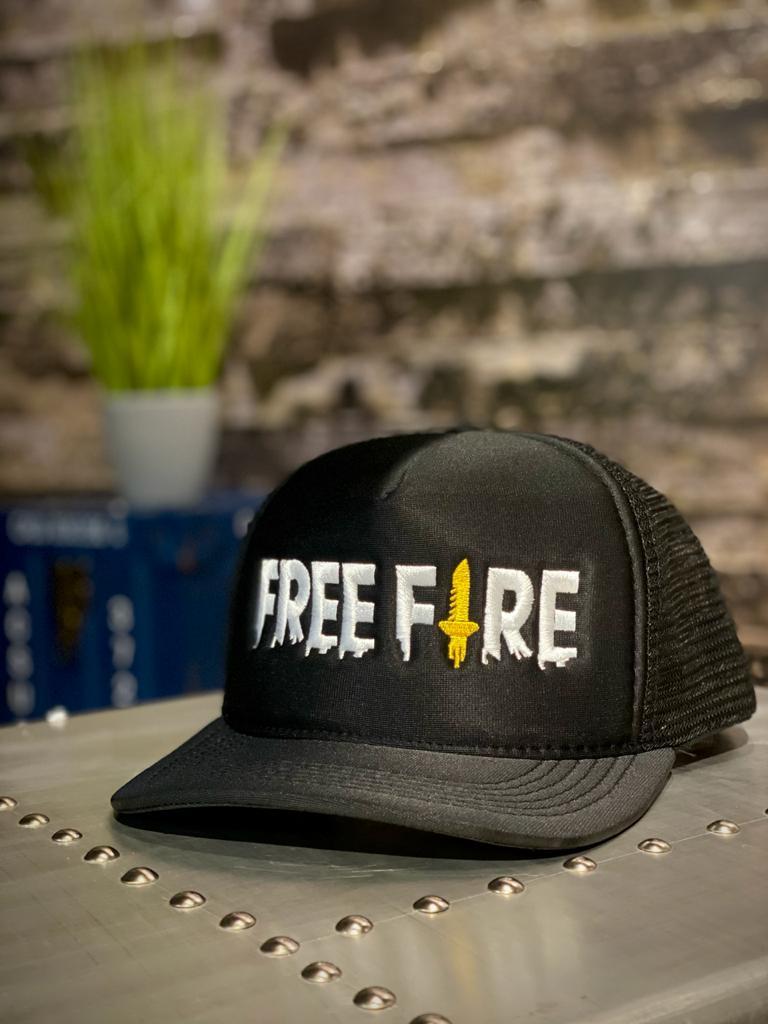 Boné Aba: Logo Free Fire