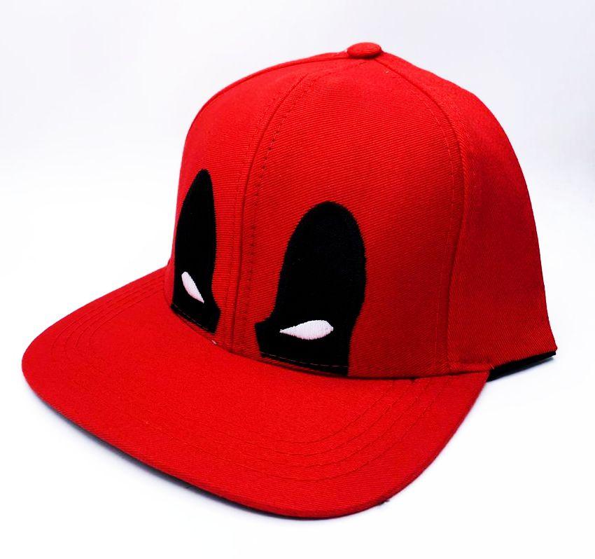 Boné Aba Reta Deadpool: Marvel