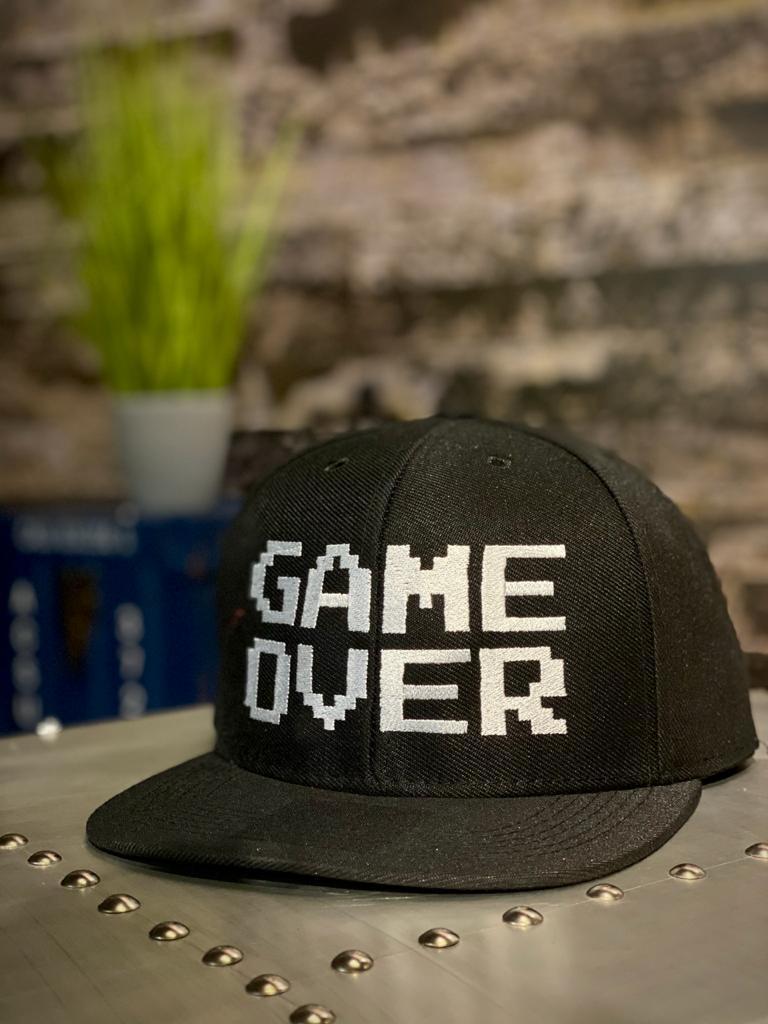 Boné Aba Reta: ''Game Over'' (Bordô)