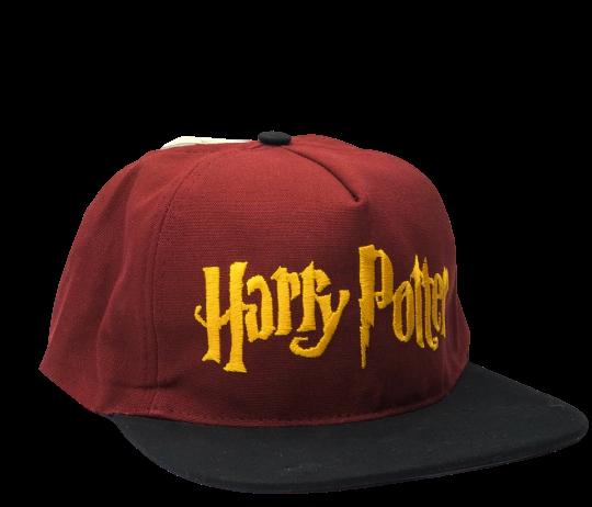 Boné Aba Reta Harry Potter (Bordô): Harry Potter - EV