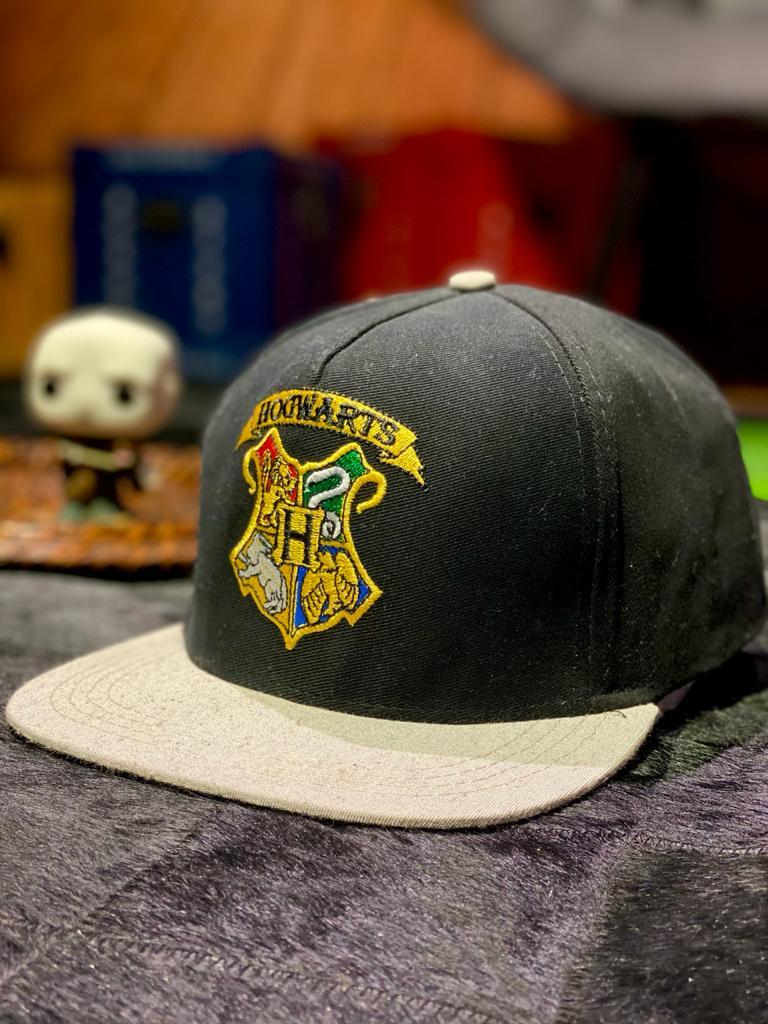 Boné Aba Reta Logo Hogwarts: Harry Potter