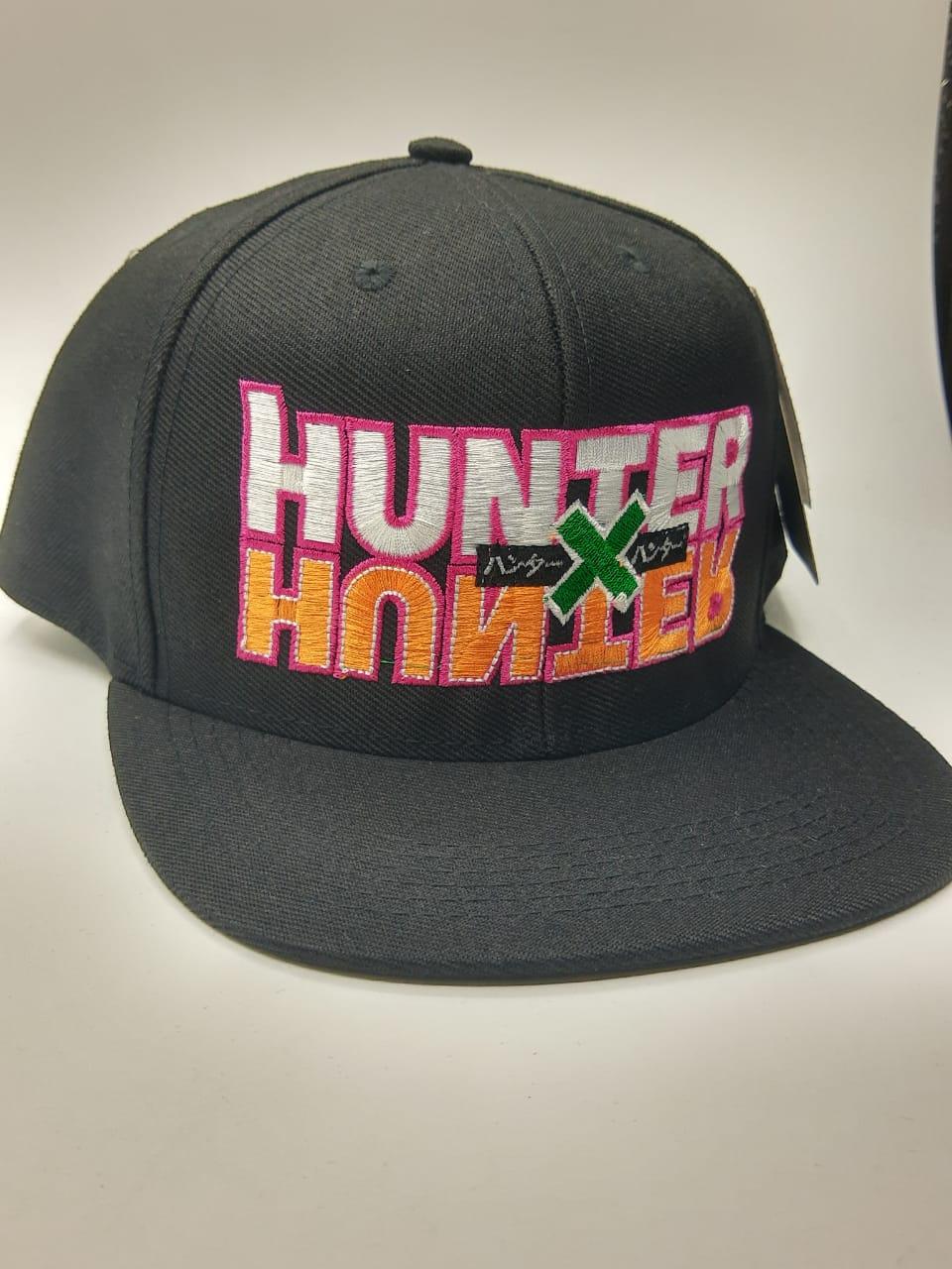 Boné Aba Reta: Logo Hunter x Hunter Anime Manga