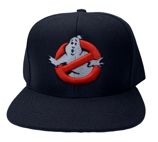 Boné Aba Reta Logo Os Caça-Fantasmas (Ghostbusters)