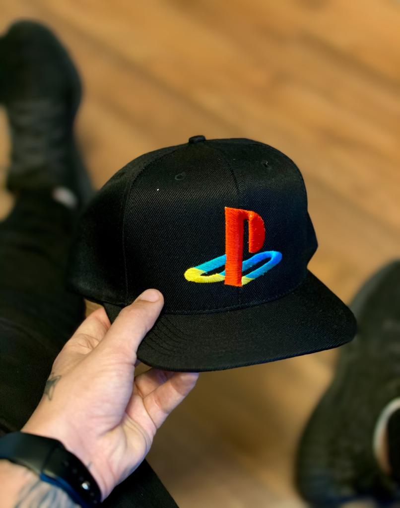 Boné Aba Reta: Logo PlayStation