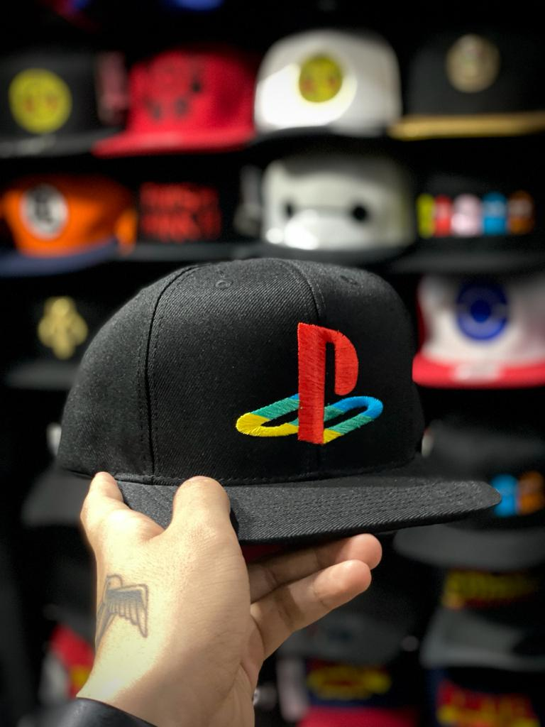Boné Aba Reta: Logo PlayStation - EV