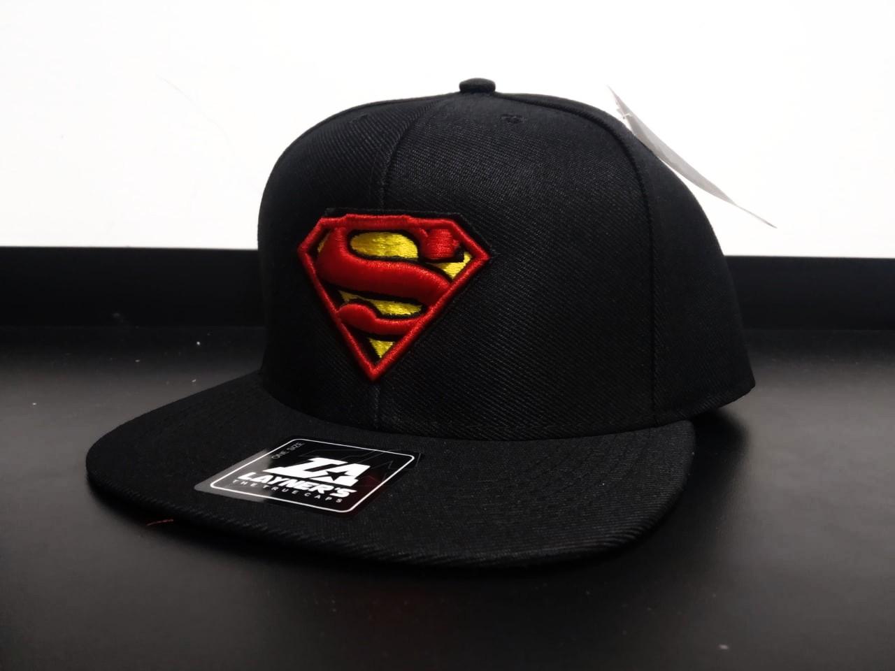Boné Aba Reta: Logo Superman