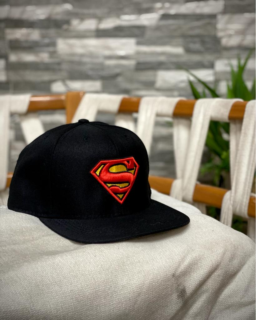 Boné Aba Reta: Logo Superman - EV