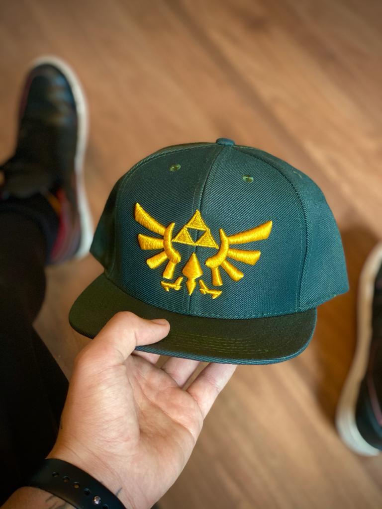 Boné Aba Reta Logo The Legend of Zelda