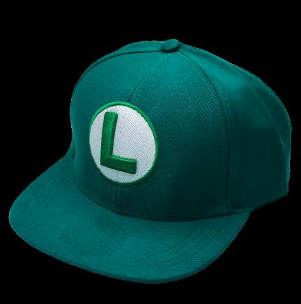 Boné Aba Reta Luigi: Super Mario Bros