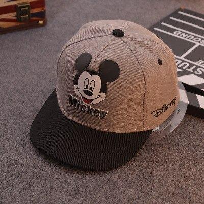 Boné Aba Reta Mickey Mouse: Disney Cinza - EVALI