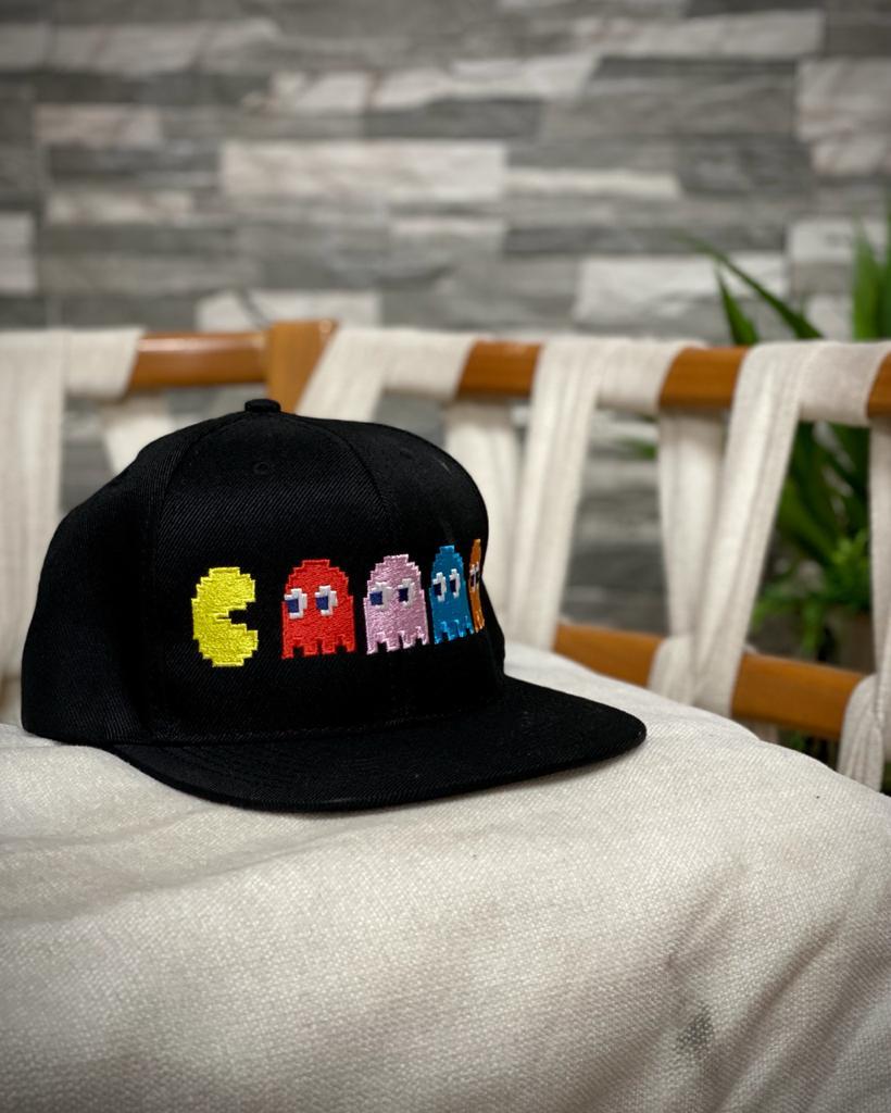 Boné Aba Reta Pac-Man - EV
