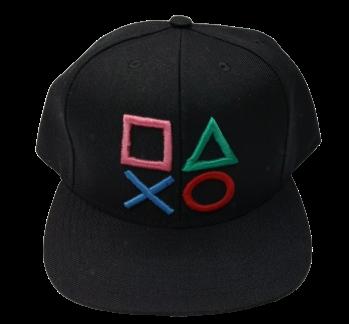 Boné Aba Reta Playstation Botões
