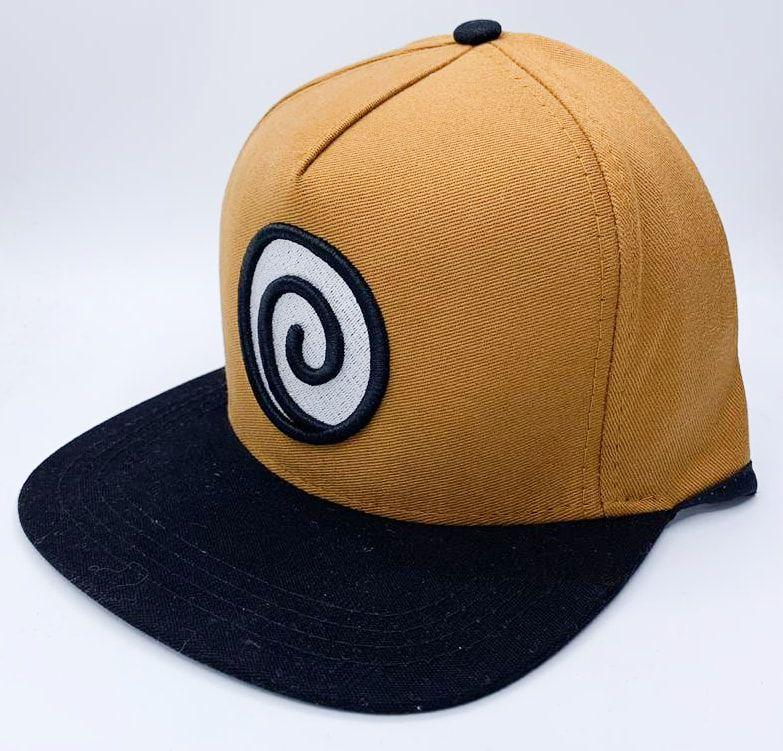 Boné Aba Reta Simbolo Clã Uzumaki: Naruto