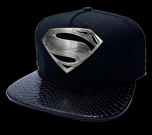 Boné Aba Reta Super-Homem (Superman): O Homem de Aço (Man of Steel)