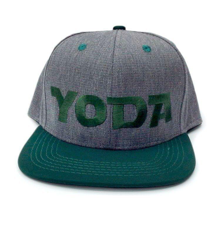 Boné Aba Reta: Yoda (Cinza e Verde)
