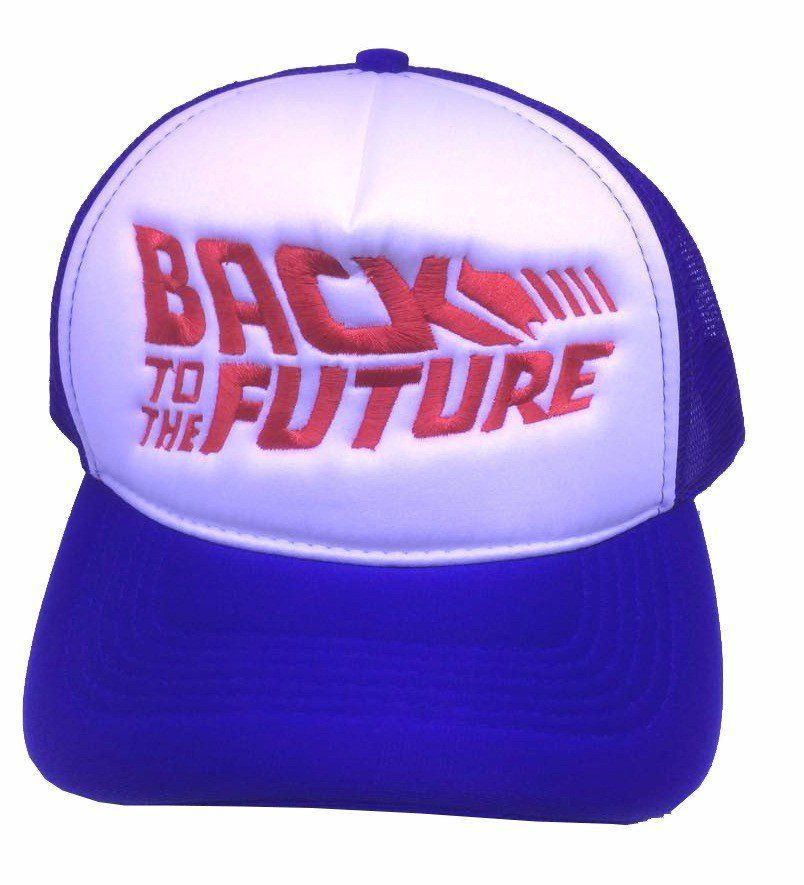Boné Back To The Future ( De Volta Para o Futuro) - (Azul e Vermelho)