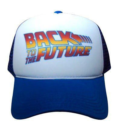 Boné Logo De Volta Para o Futuro (Back To The Future)