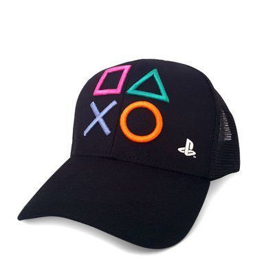 Boné Playstation Botoes