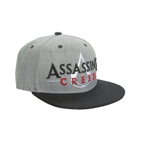 Boné Snapback: Assassin's Creed Logo