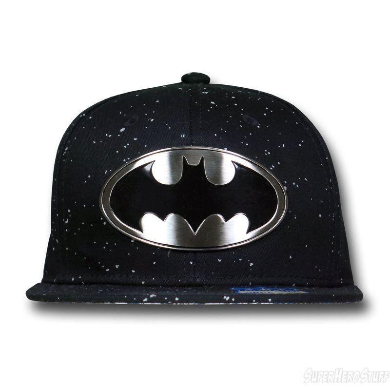 Boné Snapback : Batman Logo em Metal - Dc Comics