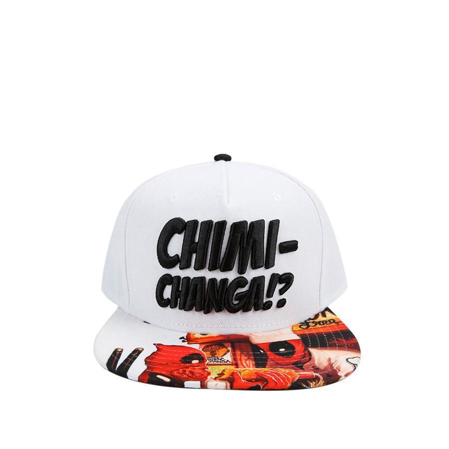 Boné Snapback: Deadpool Chimichanga