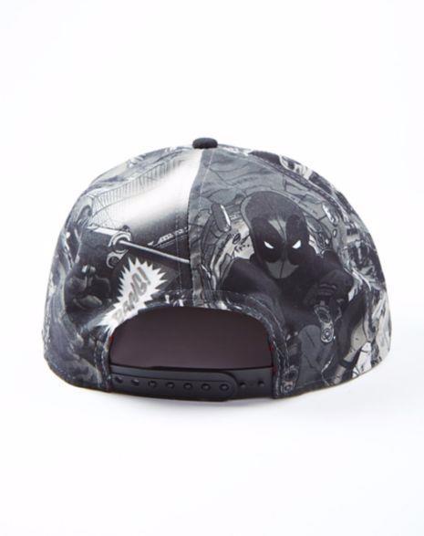 Boné Snapback: Deadpool Mask Imagens PB