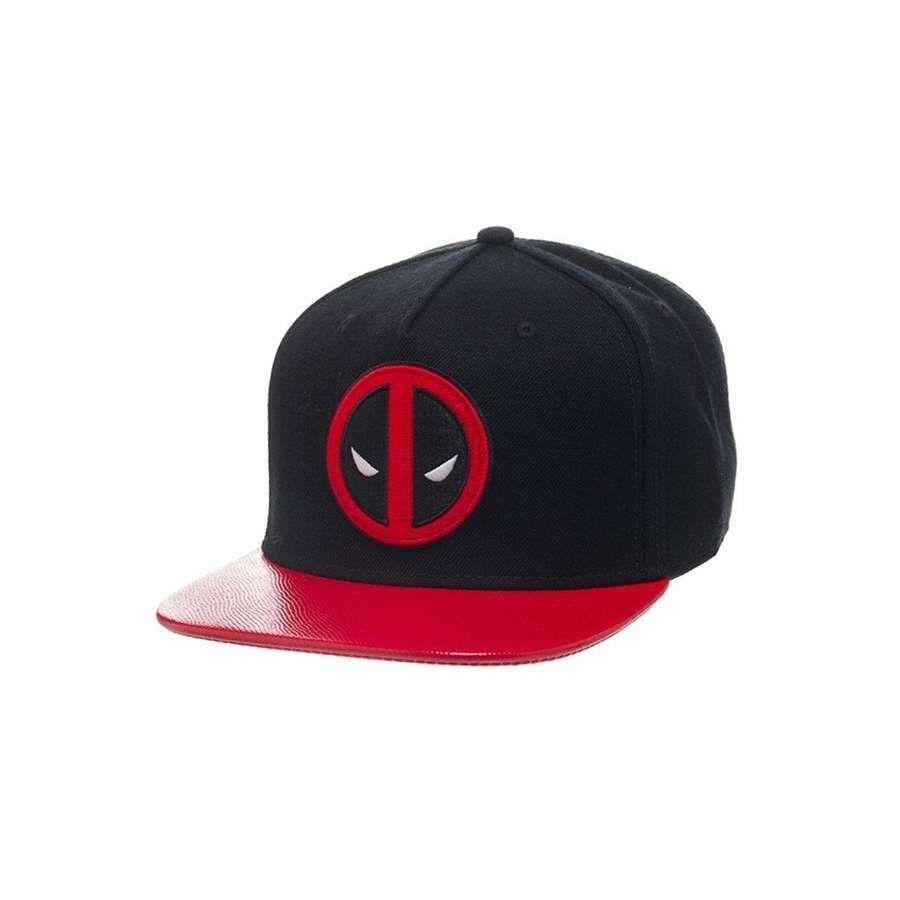 Boné Snapback: Deadpool Mask Preto