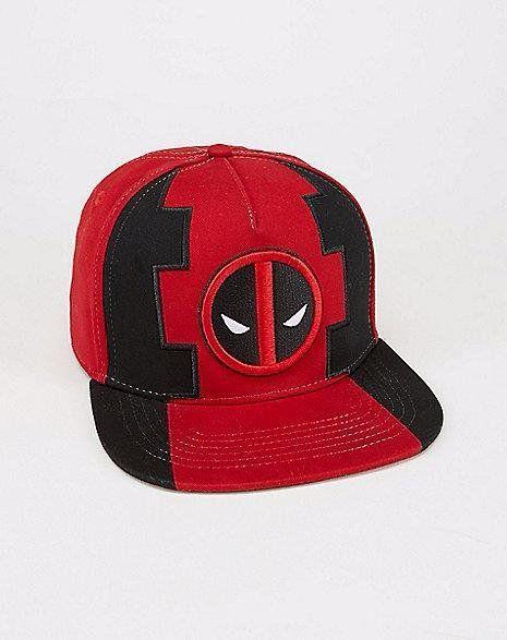 Boné Snapback: Deadpool Mask Vermelho