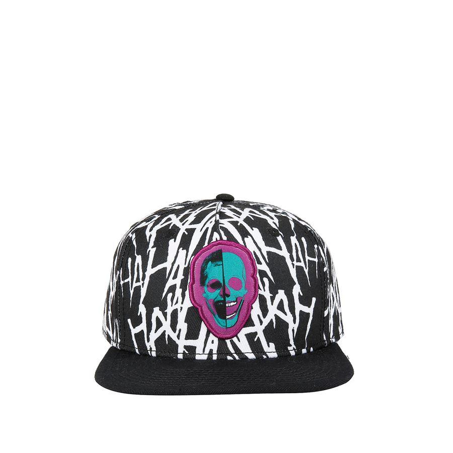 Boné Snapback: (Coringa) Joker Haha Skull