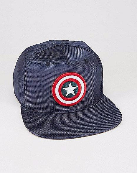 Boné Snapback Premium: Capitão América Escudo