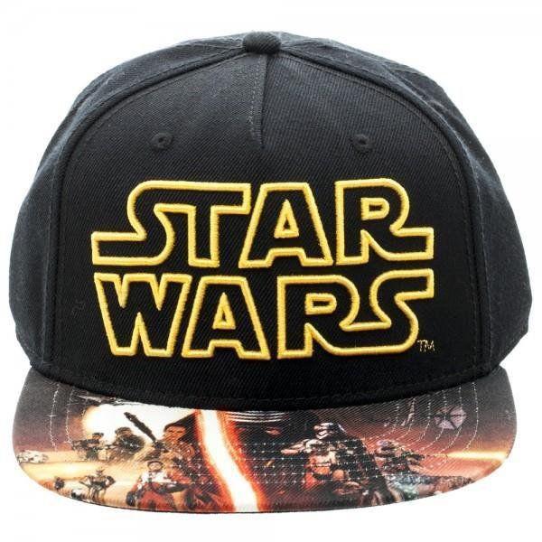Boné Snapback: Star Wars Logo Epsódio VII