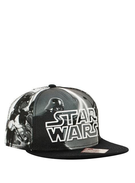 Boné Snapback: Star Wars Sublimation Imagens PB