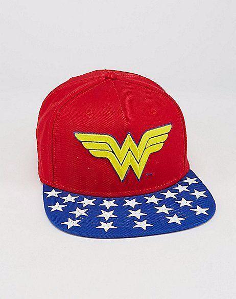Boné Snapback: Wonder Woman (Mulher Maravilha)