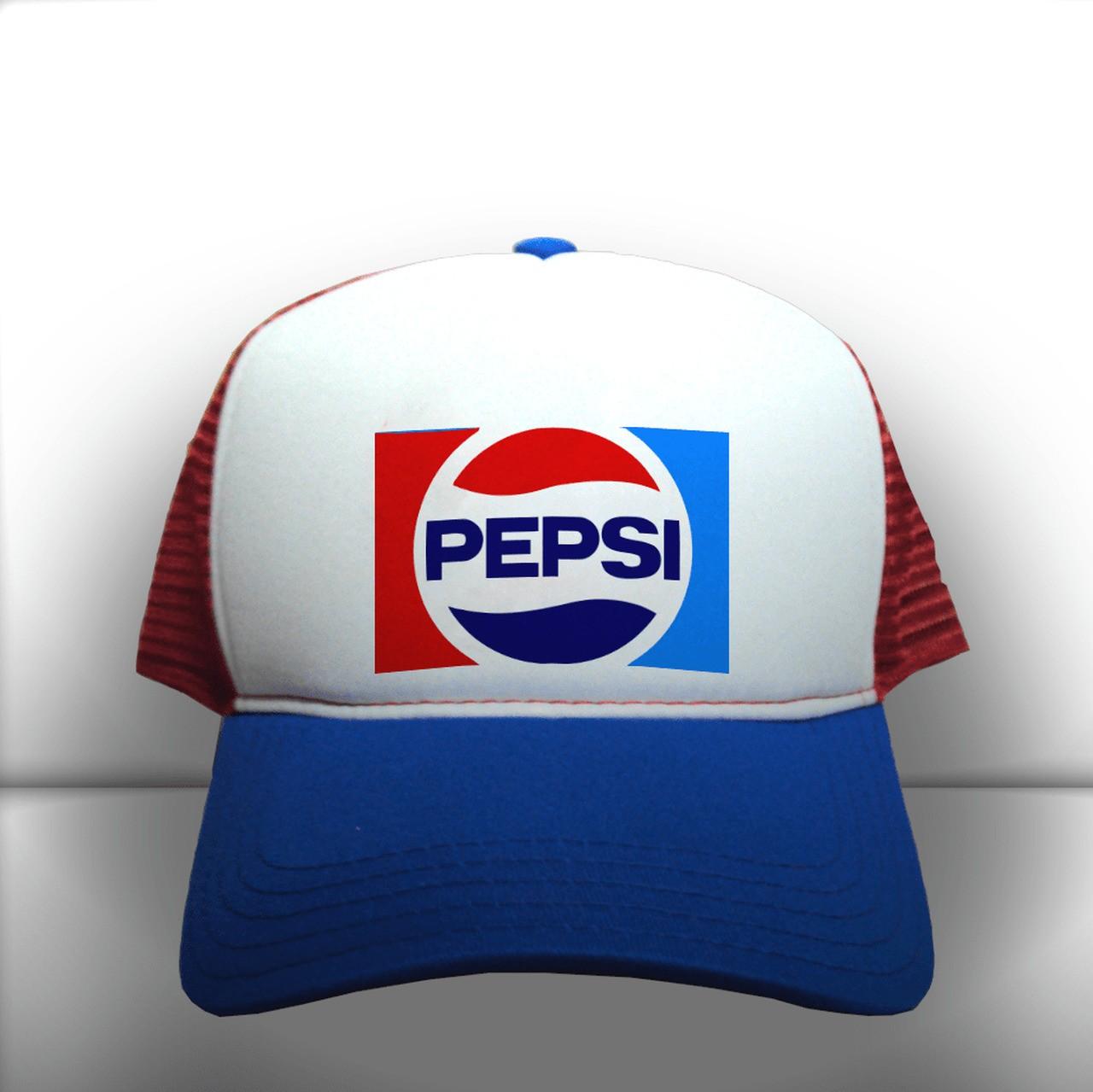 Boné Trucker Logo Clássico Pepsi