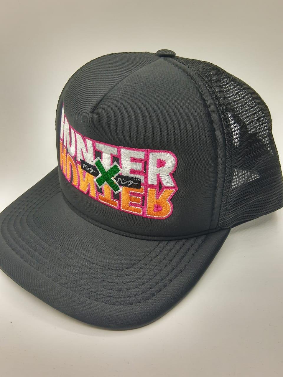 Boné Trucker Logo Hunter x Hunter Anime Manga
