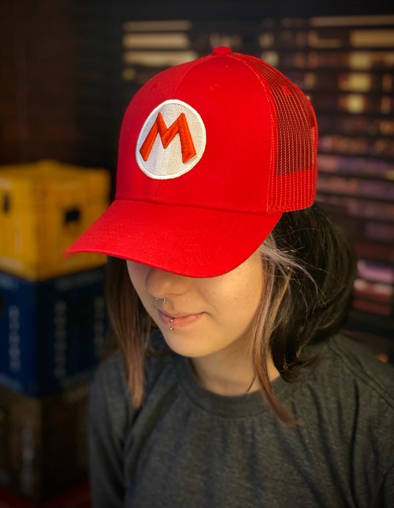 Boné Trucker Logo Mario: Super Mario Bros. - EV