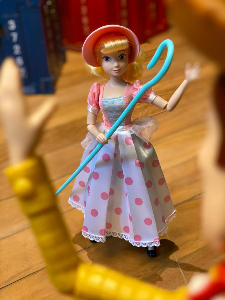 Boneca Articulada: Betty ( Bo Peep ) - Toy Story 4