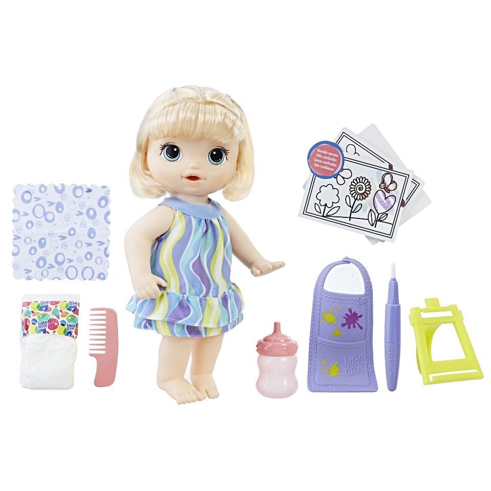 Boneca Baby Alive: Pequena Artista (Finger Paint Baby) Exclusiva