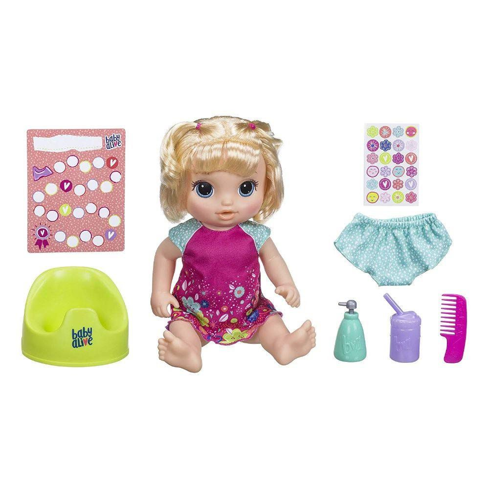 Boneca Baby Alive: Primeiro Peniquinho (Loira) - Hasbro