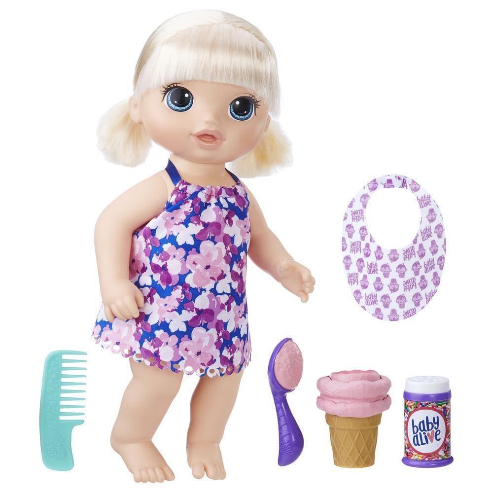 Boneca Baby Alive: Sobremesa Mágica (Loira) (Magical Scoops Baby)