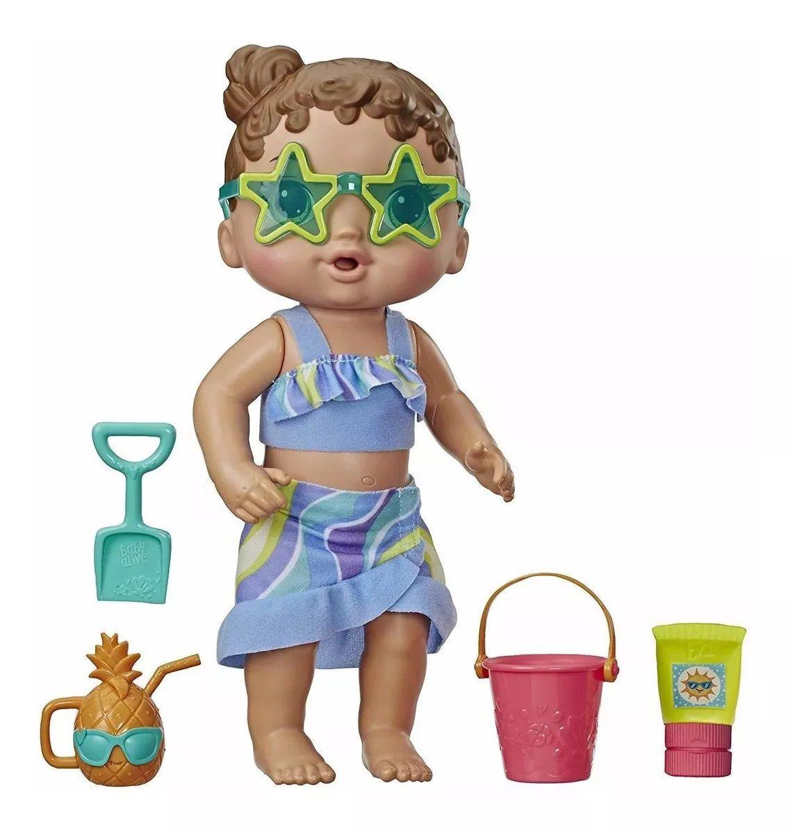 Boneca Baby Alive: Sol e Areia - Hasbro