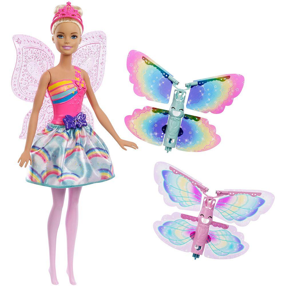 Boneca Barbie Asas Voadoras: Dreamtopia - Mattel