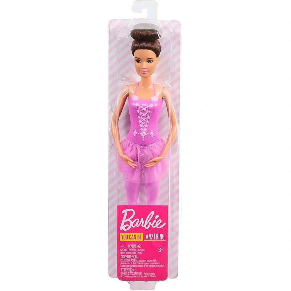 Boneca Barbie Bailarina: Barbie (You Can Be Anything) (Morena) - Mattel